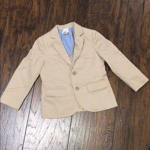 Other - Little boys Khaki blazer. Sz 3. EUC
